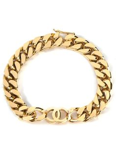 Chanel Vintage Cc Chain Bracelet - Vintage Heirloom - Farfetch.com