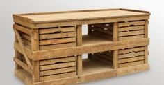 Pallet Project - Kitchen Island Made From Pallets