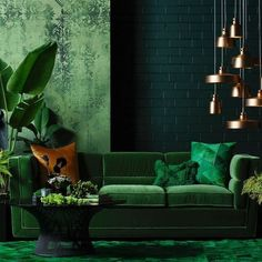 Find tons of mesmerizing green living room ideas that will totally inspire you! Pick the best one that you really love now! Living Room Furniture, Living Room Decor, Living Spaces, Wooden Furniture, Antique Furniture, Living Area, Living Rooms, Furniture Design, Outdoor Furniture