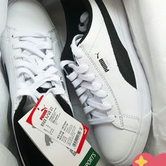 6b3fc6dadd954 BTS Puma Sneakers Shoes BASKET MADE by BTS White Black Gold 3rd ...