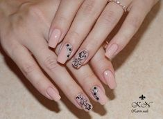and Beautiful Nail Art Designs Trendy Nail Art, Cute Nail Art, Beautiful Nail Art, Gorgeous Nails, Pretty Nails, Nail Art Design Gallery, Best Nail Art Designs, Beige Nails, Pink Nails