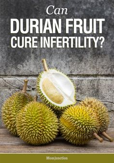 Can Durian fruit cure Infertility? Here is some information about durian fruit benefits for infertility issues. Read on to learn more about the fruit.