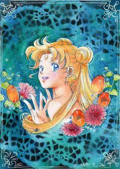 Sailor Moon by Oldschool-girl.deviantart.com