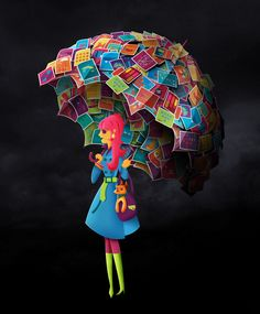 HP Umbrella  by Henry De Leon, of Los Angeles, CA,on Behance