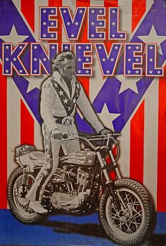 Collectible Harley-Davidson Posters & Prints for sale Evel Knievel Helmet, Evil Kenevil, Motos Retro, Harley Davidson Posters, Motorcycle Posters, Bobber Chopper, Vintage Posters, Childhood Memories, Fine Art America
