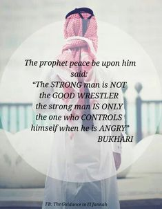 Be the strongest person ever and control your anger!