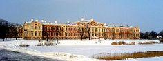 Schloss Jelgava im Wnter (Biron von Kurland)