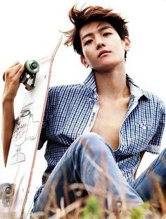 Baekhyun :Q______________ hot bacon