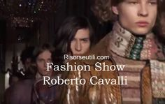 Fashion show Roberto Cavalli fall winter 2016 2017 menswear