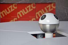 #Muzo Powerball. Features a mix of standard power outlets and TUF twin USB fast-charging outlets so that laptops, cell phones and tablets can all be charged with one unit.