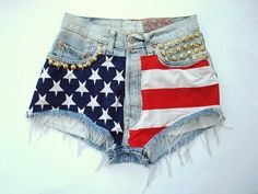 I really want some red white and blue shorts