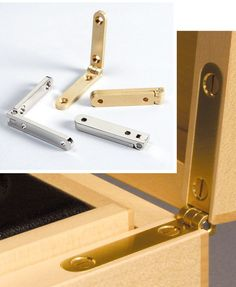 Woodworking Tool News - Finely Crafted Box Hinges - Woodworking Tools - American Woodworker