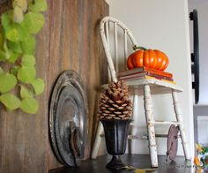 Fall Junkers Unite, 5 Ways to Use Junk In Your Fall Decor, Pin Board and Link Party