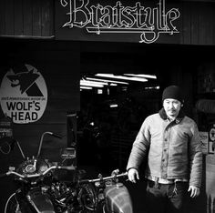 Brat Style is a phrase used by many and understood by few, the garage itself is run by a quiet Japanese man by the name of Go Takamine, his influence on Sr400 Cafe, Yamaha Sr400, Waterproof Motorcycle Boots, Mercedes Benz Unimog, Engines For Sale, Elements Of Style, Popular Mechanics, Japanese Men, World Leaders
