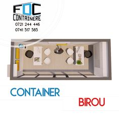 Birou dintr-un singur container, cu vitrina de 6m lungime, spatiu de birou eficient, reprezentanta mobila, birou mobil. Imagine de perspectiva.  Disponibil si pe www.containere-fdc.ro  #modular #modularbuilding #modularconstruction #smartbuilding #officespace #officedesign #officedesigntrends #3dmodeling #containeroffice #containeroffices #containerbuilding #modularcontainer #modularoffice #modulardesign #modulararchitecture