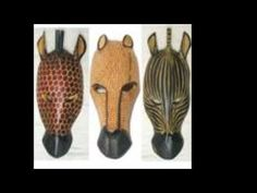 AFRICAN MASKS 1:59 to music