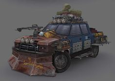 The camping trip, Michael Kelly on ArtStation at…