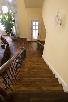 Best Originals Solid Acacia Hardwood Stairs And Floor Home 640 x 480