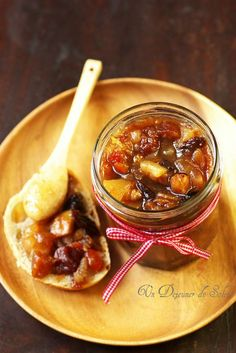 Christmas jam A sun lunch Veggie Recipes, Cooking Recipes, Christmas Jam, Compote Recipe, Healthy Eating Tips, Food Menu, Food Gifts, Food And Drink, Easy Meals