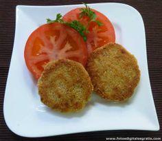 Hamburguesas de trigo burgol | INGREDIENTES:  Trigo burgol / Huevo / avena  / Cebolla / Morrón / Zanahoria / Rebozador