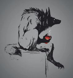 Art by Dygee Dark Fantasy Art, Dark Art, Art Sketches, Art Drawings, Art Noir, Werewolf Art, Arte Obscura, Creepy Art, Monster Art