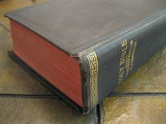 The Holy Bible  Teacher's Edition  Self by TheBookVault on Etsy, $6.00