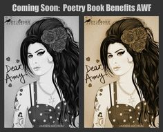 Embedded image permalink Amy Winehouse Foundation, Examples Of Art, Poetry Books, Her Music, Embedded Image Permalink, Photo And Video, Jade
