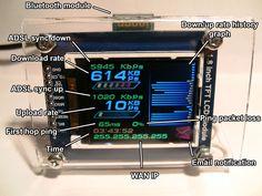 Bluetooth Net Monitor » Zak's Electronics Blog ~*