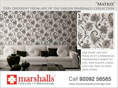 Trending the new way with textured #Walls and #Style. Explore more @ www.marshallswallcoverings.com #DesignerWalls #Wallpaper #WallDecor #WallcoveringsCollection #HomeInterior #DesignWalaColour #MarshallsWallcoverings