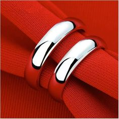 Fashion Jewlery Pair Simple Smooth white gold plated Couple Wedding Set 925 Sterling Silver Rings for Women and Men ring size 11 Wedding Sets, Wedding Couples, Argent Sterling, Sterling Silver, Cheap Rings, Plaque, Jewlery, Rings For Men, Silver Rings
