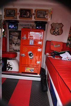 Boler Trailer interior