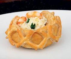 Receitas - Strudel de bacalhau com espinafres e camarão (chef josé avillez) - Petiscos.com