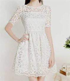 Cool White Confirmation Dresses For Teenagers 2018
