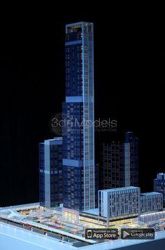 tower architectural Model Making please visit www.3drmodels.com