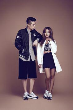Sistar and Beenzino by Mok Jung Wook for Highcut Korea Jan 2015 Korean Couple Photoshoot, Korean Shows, Korean Outfits, Korean Clothes, Sistar, Korean Star, Fashion Couple, Photos Of Women, Korean Model