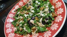 Blog da Gavioli: Salada de rúcula, frango e ricota