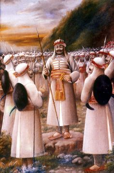 Maharana Pratap addressing his army before going for the battle. Artist: Attributed to Chaturbhuj and Sons, Udaipur. Oil paint on can. Ancient Indian History, History Of India, Shivaji Maharaj Painting, King Of India, Freedom Fighters Of India, Iron Man Cartoon, Indian Drawing, Shivaji Maharaj Hd Wallpaper, Warriors Wallpaper