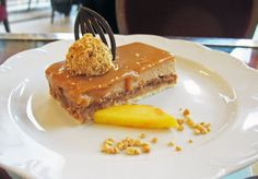 Crunchy Nut Cake-New York Cafe-Budapest Hungary-Best dessert ever!!!!!