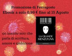 #promo #ebook:  fino a #Ferragosto il mio romanzo #noir a solo 0.99 €  http://www.amazon.it/dp/B00SU83VCI