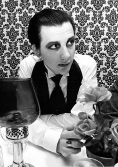 dave vanian of the DAMNED!