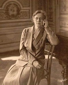 Photo ca. 1925   Nadia Boulanger (1887-1979), French composer, conductor, and teacher.