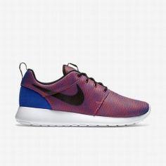 7c38904525f Nike Men s Racer Blue Bright Crimson Black Roshe One Premium Plus Shoe Nike  Air