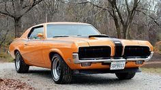 1970 Mercury Cougar Boss 302 Eliminator Super Drag Pak, One of 58 Produced presented as lot at Kissimmee, FL 2016 - Best Muscle Cars, American Muscle Cars, Mercury Cars, Ford Lincoln Mercury, Ford Classic Cars, Pony Car, Mustang Cars, Performance Cars, Ford Gt