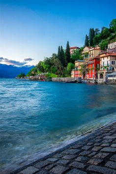 """From """"Simple, Interesting"""" WordPress.  """"Varenna is commune on Lake Como in Province of Lecco in Italian region Lombardy, located 60 km north of Milan & 20 km nw of Lecco. Main sight is Castello di Vezio, which, among the rest, houses a small museum dedicated to the Lariosaurus, a sea reptile from the Middle Triassic period. Varenna was founded by local fishermen in 769... In 1126 it was destroyed by rival commune of Como, and later received refugees from Isola Comacina, who met same fate…"""