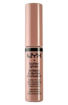 NYX Butter Gloss - Tiramisu - i don't always like glosses but the butter glosses are really nice and not sticky