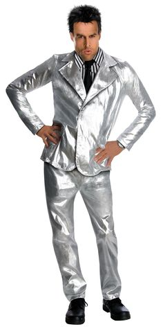 Silver Suit for Futuristic Norman