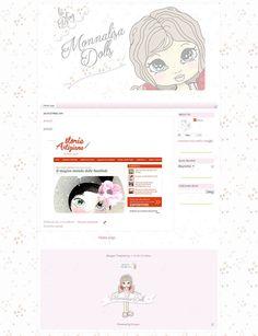 Online il nuovo template di Monnalisa Dolls http://graficscribbles.blogspot.it/…/template-background-sf… #bloggertemplate #bloggerbackground #template #sfondi