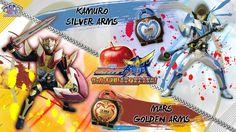 Kamuro & Mars [ Silver & Golden apple]
