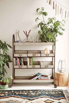 Metal Rolling Cart - Urban Outfitters