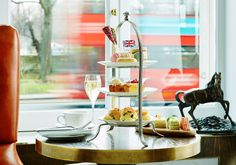 35% off 5 Star Traditional Afternoon Tea at London Marriott Hotel Park Lane